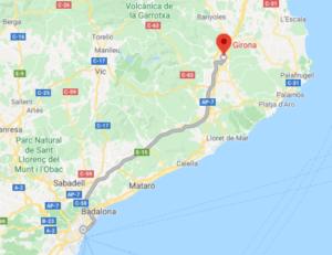 Barcelone to Girona