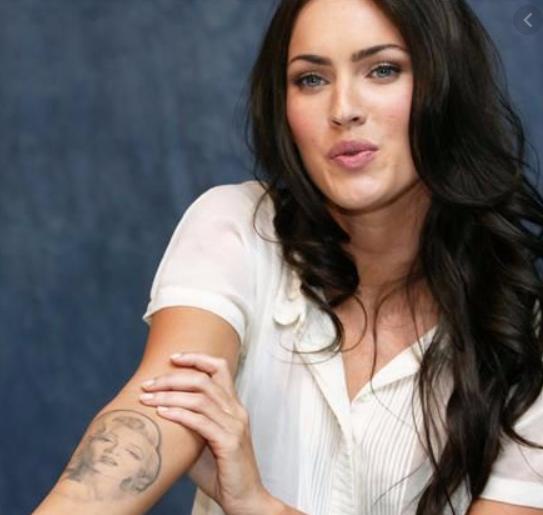 Megan Fox Marilyn Monroe Tattoos