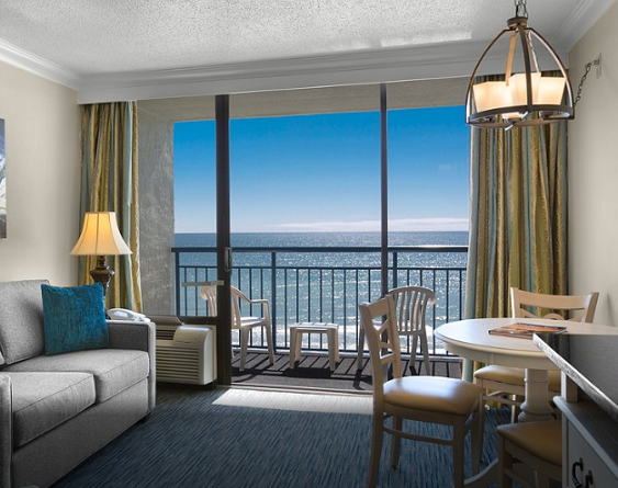 Myrtle Beach best hotels on the beach